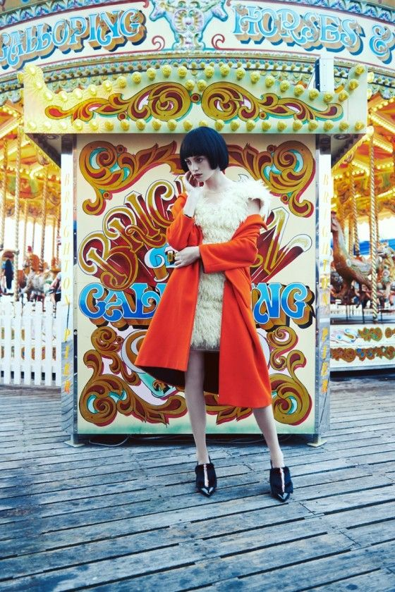 #MillySimmonds by #OlgacBozalp for #LOfficielTurkey September 2013