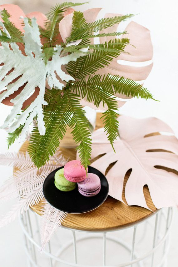 Decoration De Table Theme Tropical