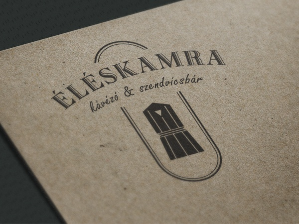 ÉLÉSKAMRA Coffee & Sandwich bar by DOS csoport , via Behance
