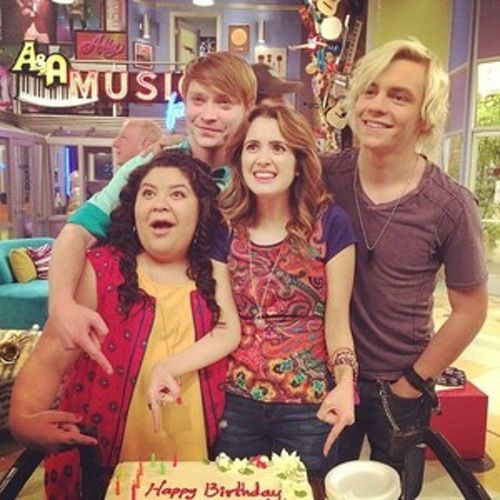 Austin and Ally Cast | Austin and ally celebrate laura marano birthday