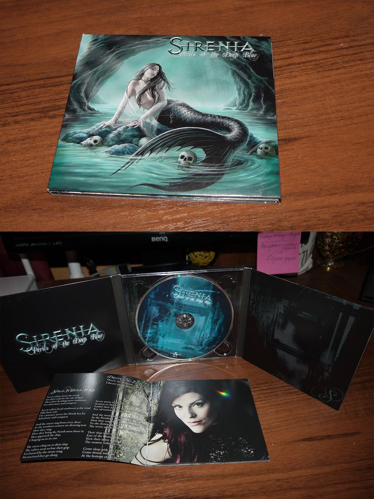 Sirenia - Pearls of the Deep Blue (digipack CD) 2013