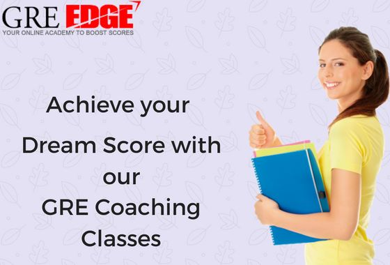 Looking to take GRE prep courses online? Get help from the GREedge, the leading institute for GRE preparation online. Choosing the best GRE course is an important one that will assist you to score high in GRE exams and get admissions in your dream college. https://www.greedge.com/