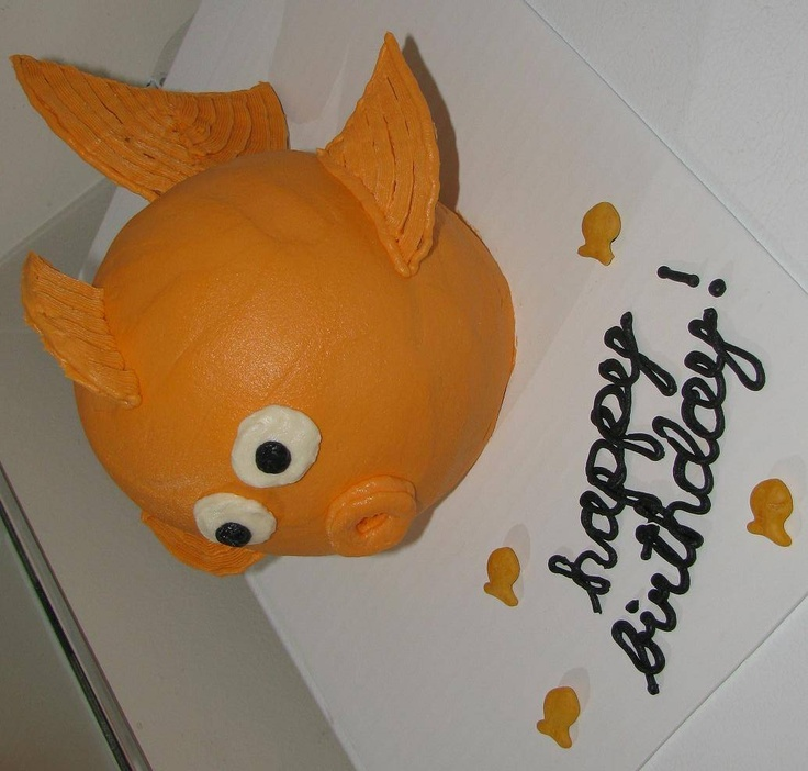 Goldfish Cake - Gotta get this for the band!