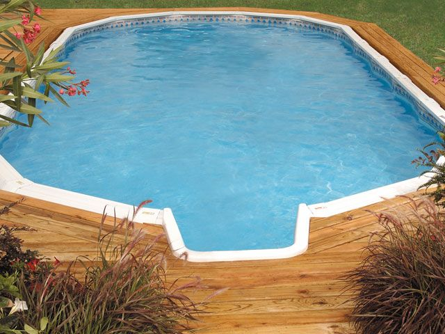 289 best images about pools on pinterest above ground for Above ground pool decks tampa