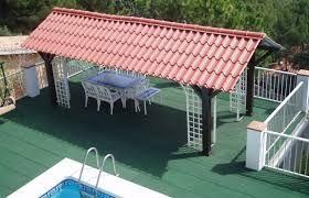 Casas con techos de lamina tipo teja buscar con google - Casas con tejas ...