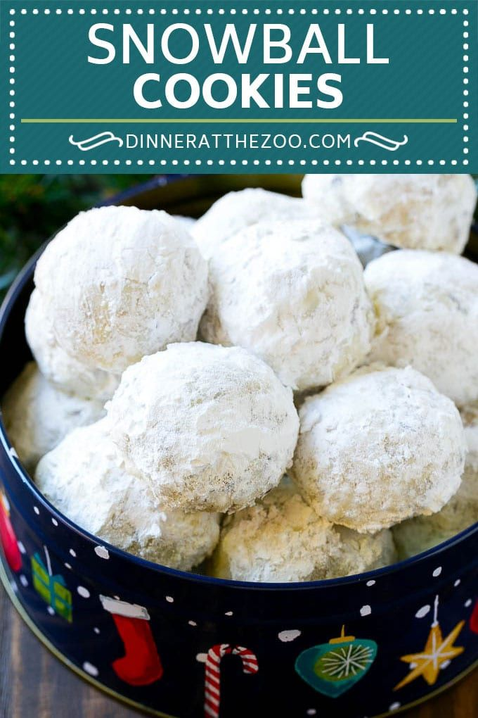 Snowball Cookies Recipe Mexican Wedding Cookies Russian Tea