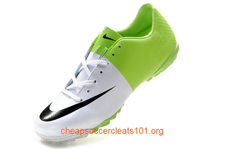 Football Boots Mercurial Victory III Astro Turf Boots Soccer Cleats Green White