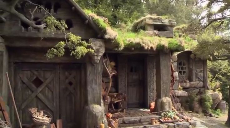 Beorn S House Middle Earth House Natural Building