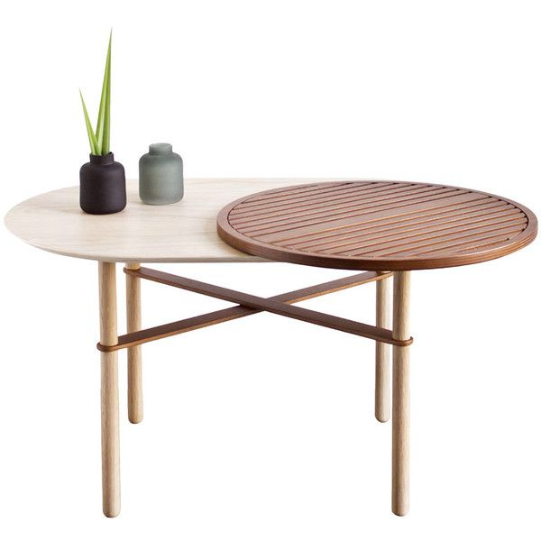 ComingB Oak Table With Walnut Tray, Oakwood Furniture, Oak Wood Table And Oak  Wood Furniture