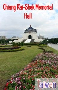 chiang kai shek memorial hall - a great day trip in Taipei