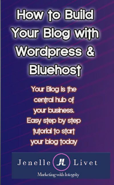 Your Blog is the central hub of your marketing strategies. Whether you are using a blog to brand yourself or as an information and promotion platform you can set it up in a few easy steps. Check out these easy steps on my blog https://www.jenellelivet.com/2017/04/04/start-blog-using-bluehost-wordpress/