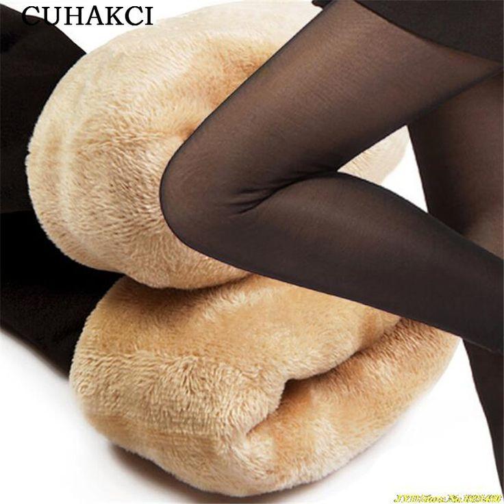 Plus Cashmere Velvet Leggings Thick Through The Meat Warm Pants Women's Leggings Warm Leggings Winter Clothes free shipping