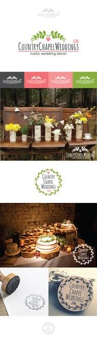 Create a logo for our handmade rustic wedding supply store by WeingLeungGD