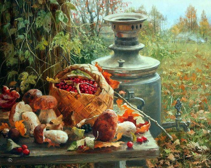 Осенний урожай Владимир Жданов - современный художник,