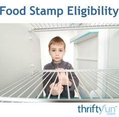 This is a guide about food stamp eligibility. The Federal food stamp program was established to ensure that low and no income individuals and families had assistance for buying food.