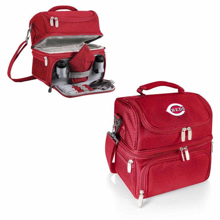 Cincinnati Reds Pranzo Lunch Tote - Red