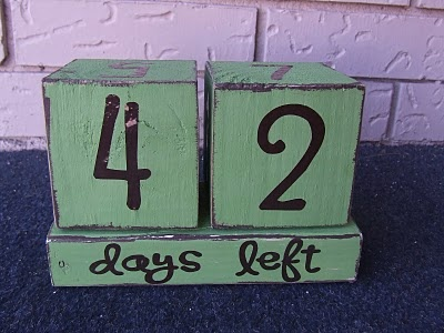 Countdown BlocksCrafts Ideas, Deployment Ideas, Army Wife, Mushy Stuff, Advent Calendar, Countdown Block, Kiddos Fun, Diy Private, Deployment Suck