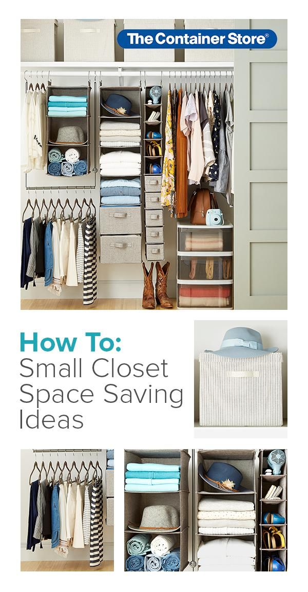 How To Maximize Space In A Small Closet Step By Step Project