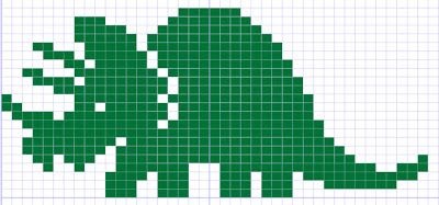 knit:  dinosaur fair isle knitting charts!