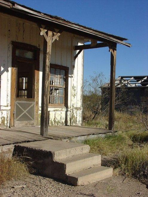 Splendidi abbandoni: le città fantasma in Italia e nel mondo. Orla, Texas.