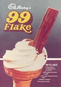Cadbury's 99 Flake ice cream
