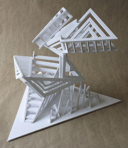 DD1b | RISD Pre-College Design, Staircase Assignment, foambo… | Flickr