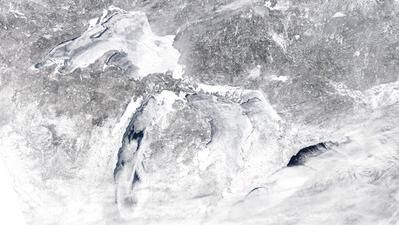 Official: Great Lakes ice coverage headed for record