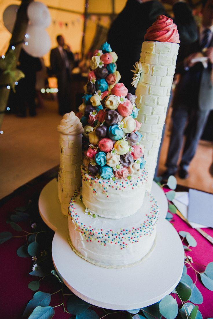 Cake Harry Potter Hogwarts Confetti Multicoloured Crafty Carnival Wedding http://alicethecamera.co.uk/