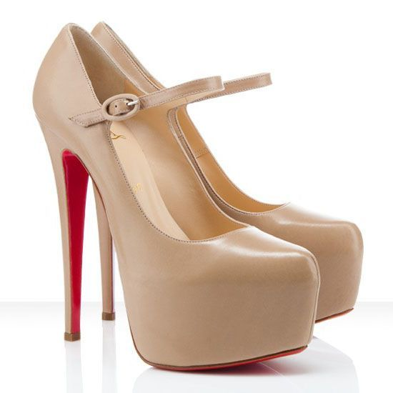 christian louboutin lady super platform mary jane pumps