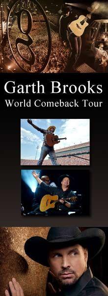 Garth Brooks Comeback Tour---- Best Concert. EVER!!!!!!!!