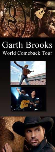 Garth Brooks Comeback Tour
