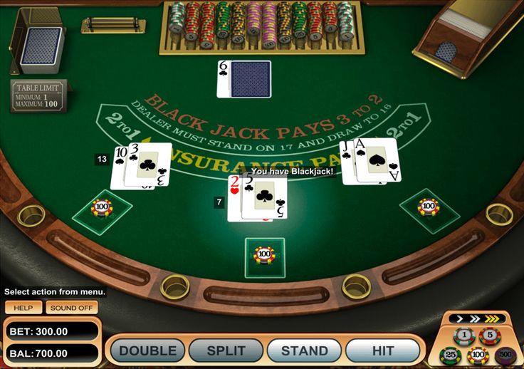 Si vous cherchez le blackjack en ligne de haute qualité, BetSoft est ravi de vous aider. Dans leur jeu American Blackjack, on utilise 6 paquets de cartes et on joue avec le croupier indépendamment d'autres parieurs. Cet appareil a une réalisation visuelle agréable qui vous enfonce dans une ambiance d'un vrai casino. Croyez que le succès est plus près que vous imaginez!
