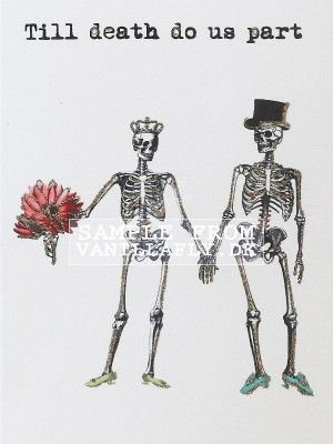 GREETING CARD TILL DEATH.. (6-pack) #10K100
