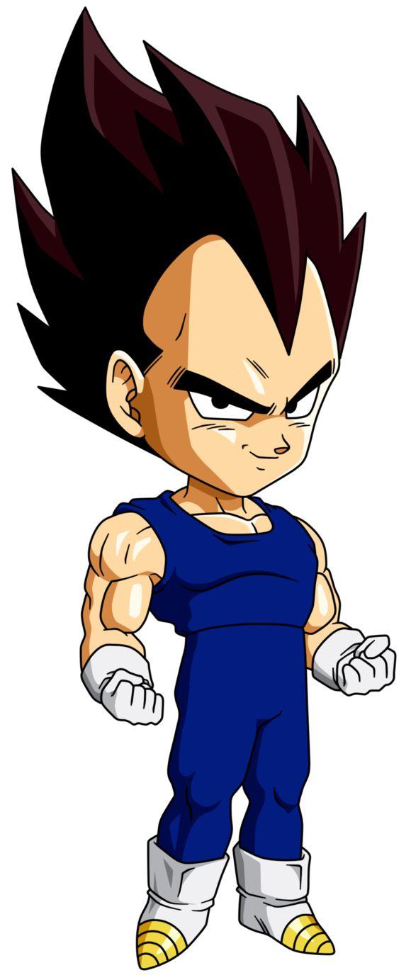 Personajes Chibi de Dragon Ball- Vegeta
