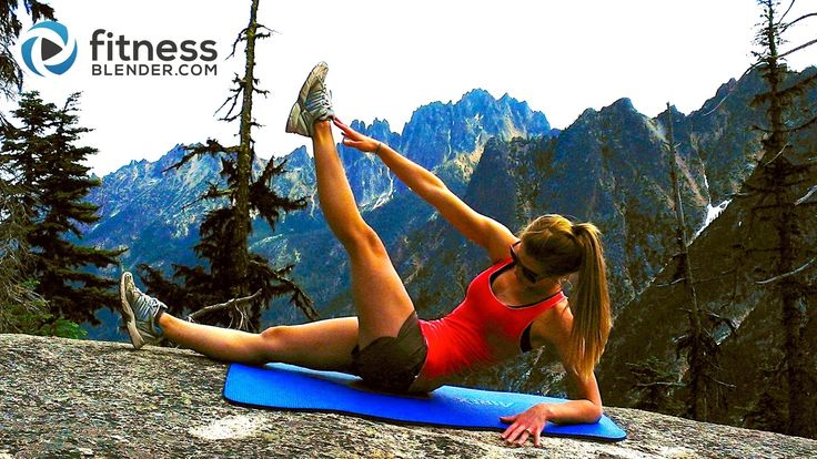 7 min (2) http://www.fitnessblender.com/v/workout-detail/Mountain-Top-Abs-Workout-Toning-Abs-Obliques-Workout/bt/