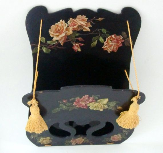 Antique Letter Rack Wall Hanging Letter Holder by FrenchCandy