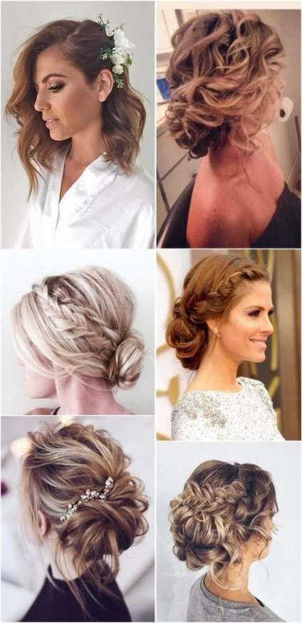 Bridal hairstyles half up half down medium top knot 52 Best ideas
