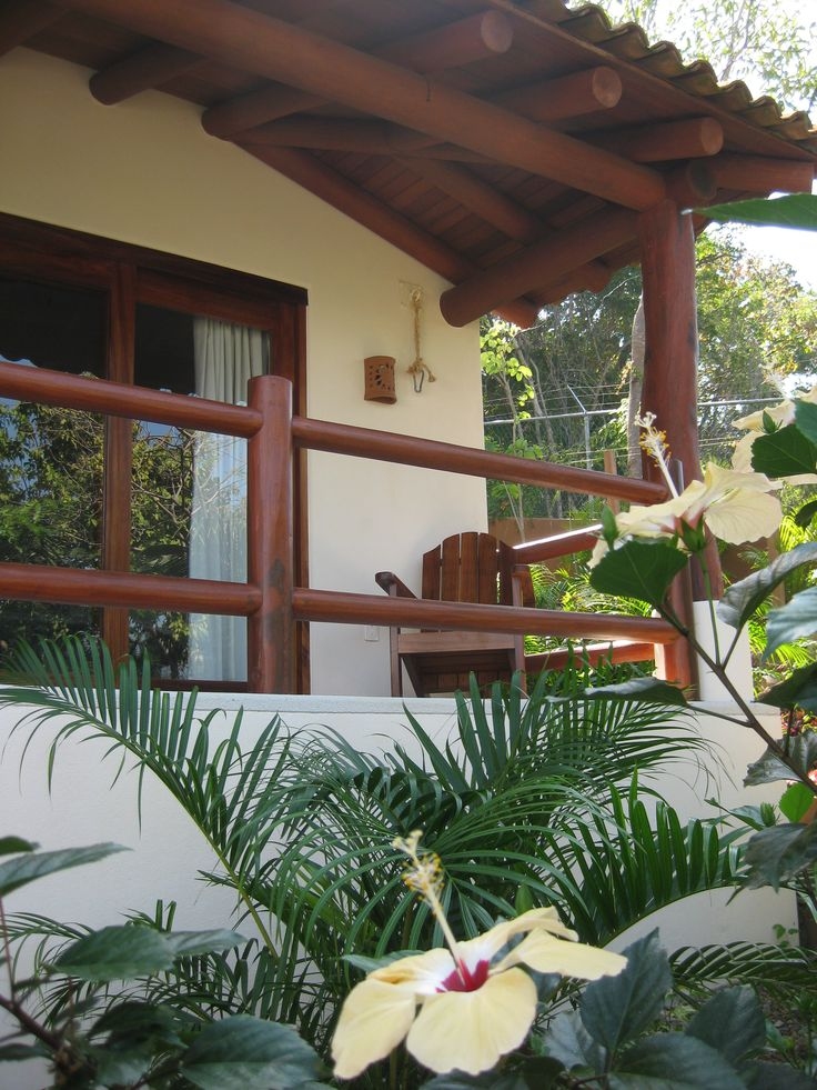 Exterior view of the Ciruelo room, private terrace and relaxation