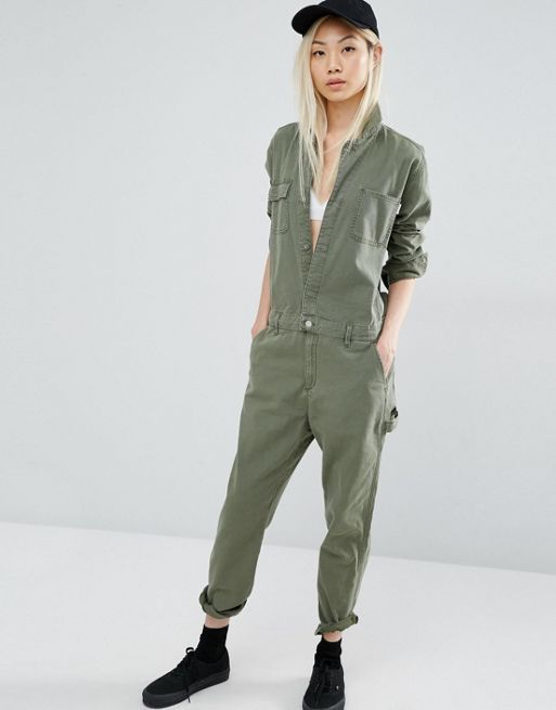 Carhartt wip camden coverall jumpsuit green women playsuit,carhartt wip  coat,Most Fashionable Outlet