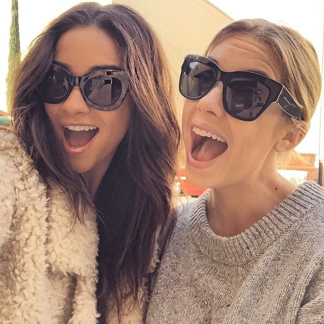 Shay Mitchell and Ashley Benson are so cute in this selfie!  | Pretty Little Liars