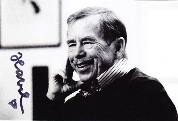 Václav Havel the first president of Czech Republic and the face of non violent revolution in 1989.