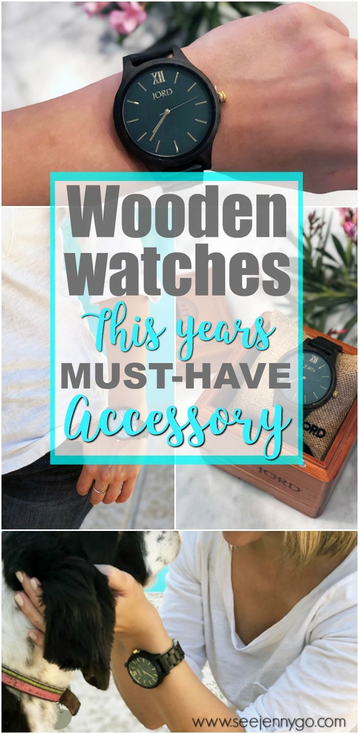 Check out the newest trend this season, unique wooden watches for women and men. #watches #woodenwatches #uniquewatches