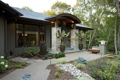 Traditional Home Stucco Exterior Design Pictures Remodel Decor And Ideas Page 4 Exterior