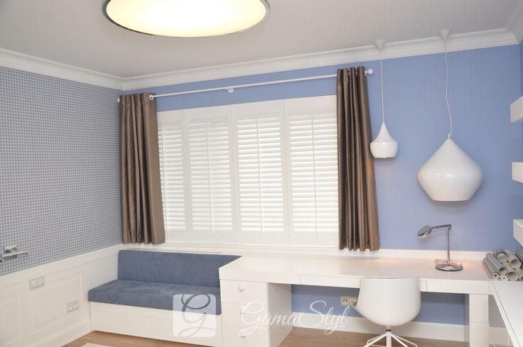 SHUTTERSY to drewniane okiennice wewnętrzne, pozwalające na stworzenie niepowtarzalnego klimatu w pomieszczeniu.