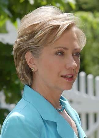 One of your best looks, Hillary.  Easy care, casual, attractive...this is good.