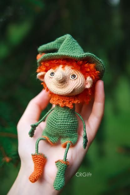 Crochet Elf / Amigurumi / Halloween / Crochet Elf Boy от CRGift