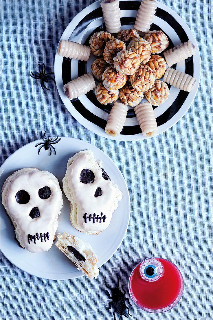 Dê aso à sua imaginação! #Halloween #Doces #Bolos #Olho #Aranha