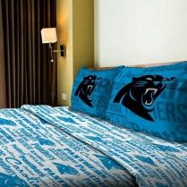 Carolina Panthers NFL Anthem Sheet Set
