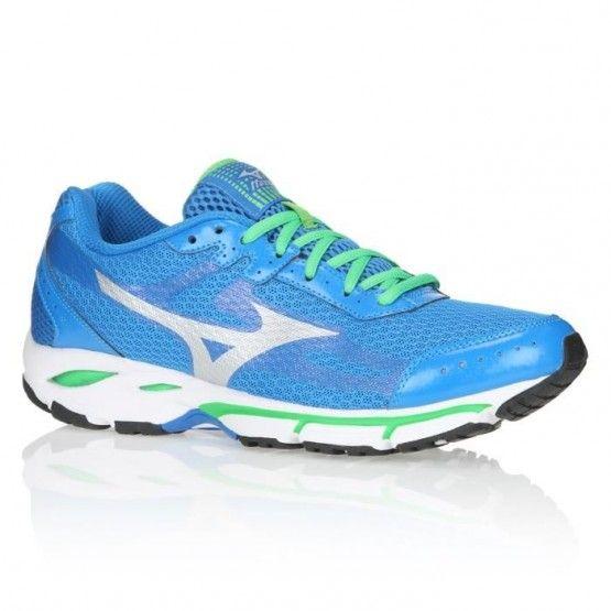 Mizuno Wave Resolute 2 futócipő kék,zöld férfi
