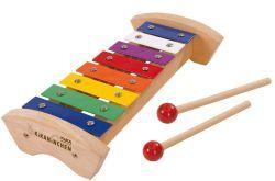 KiKANiNCHEN Holz-Xylophon ...komm, lass uns Musik machen! Mit dem bunten KiKANiNCHEN Xylophon und dem dazugehörigen Liederbuch werden die tollsten Kinderlieder gespielt. #kinder #musik #bunt #kidoh
